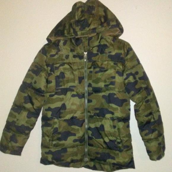 d272be39ca9c9 Faded Glory Jackets & Coats | New Boys Camo Hooded Coat Boys Large ...
